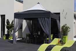 solarius la tonnelle de jardin haut de gamme mobilit en plus. Black Bedroom Furniture Sets. Home Design Ideas
